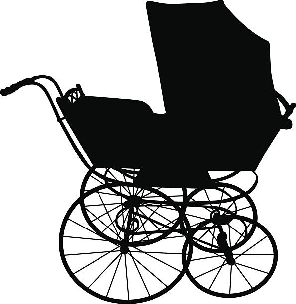 Best Baby Carriage Illustrations Royalty Free Vector