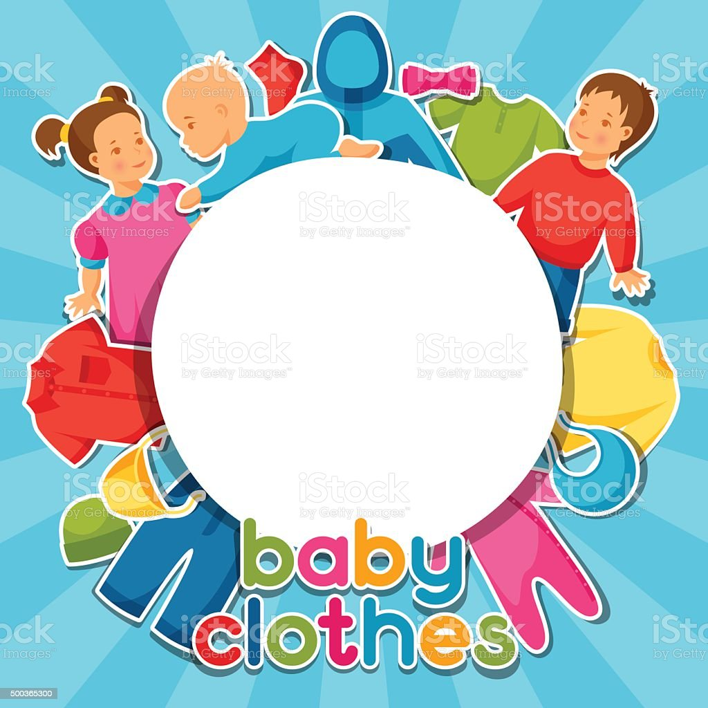 E Per Abbigliamento Capi Sfondo I Dabbigliamento Neonati Con Baby qW8nUa