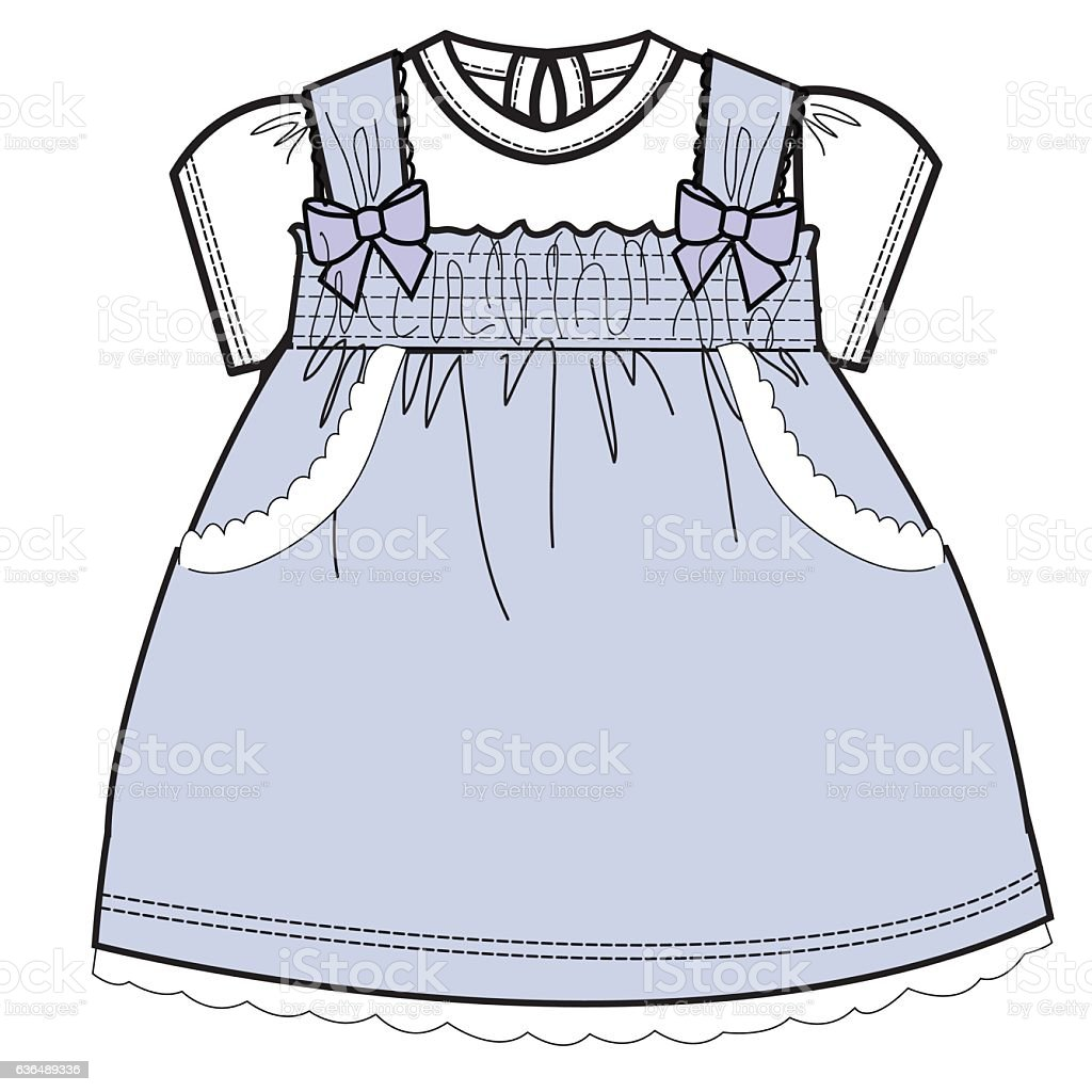 baby clothes flat sketch template isolated stock vector art more