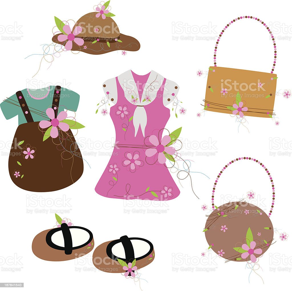 Baby clothes royalty-free baby clothes stock vector art & more images of baby