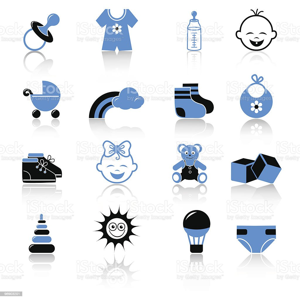 baby clothing and accessories icons royalty-free baby clothing and accessories icons stock vector art & more images of baby