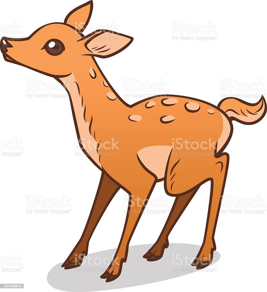 royalty free baby deer clip art vector images illustrations istock rh istockphoto com mom and baby deer clipart mom and baby deer clipart