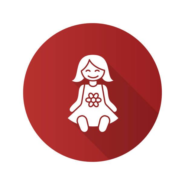 baby-puppe-symbol - puppenkurse stock-grafiken, -clipart, -cartoons und -symbole
