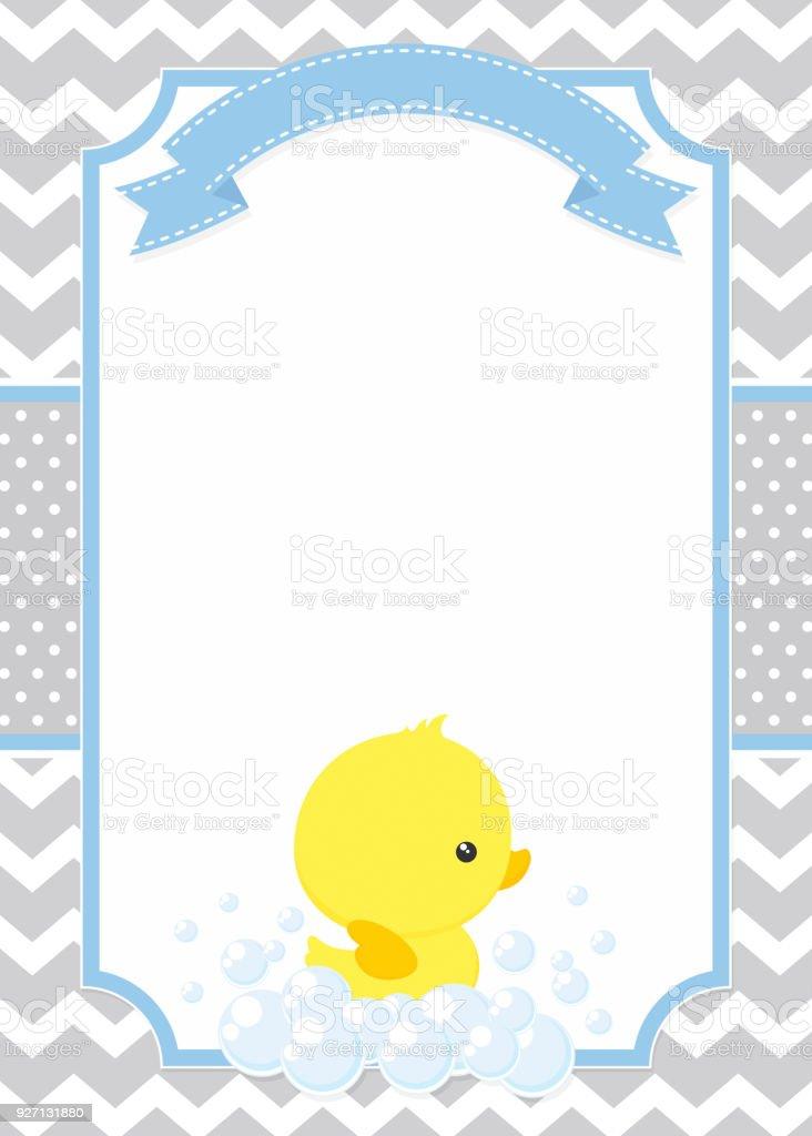 Baby duck invitation stock vector art more images of baby baby duck invitation royalty free baby duck invitation stock vector art amp more images stopboris Image collections