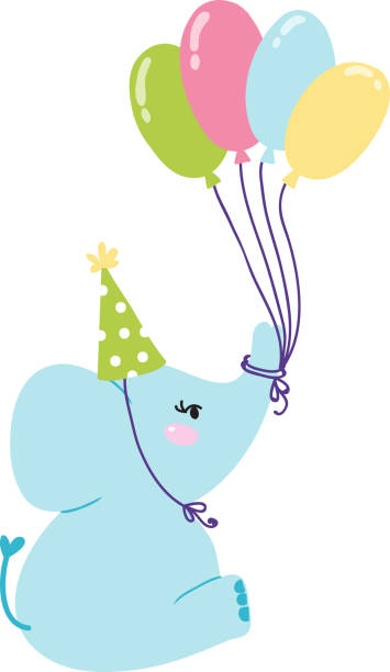 royalty free baby elephant clip art vector images illustrations