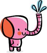Baby Elephant Doodle