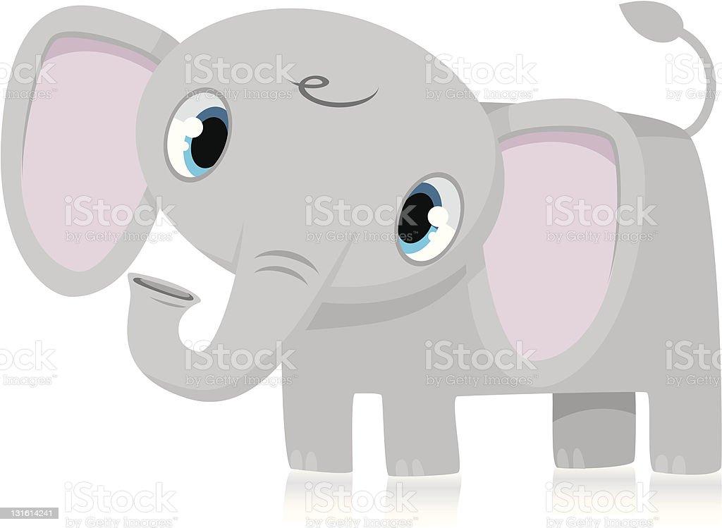 Ilustración de Bebé Elefante y más banco de imágenes de Animales de ...