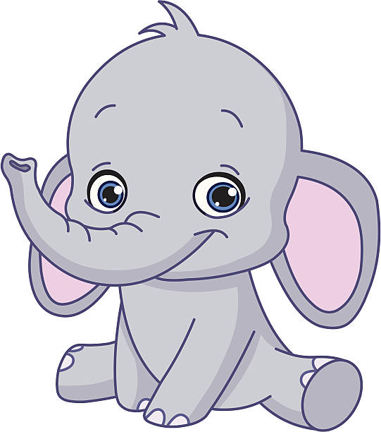 Top Baby Elephant Clip Art, Vector Graphics and ...