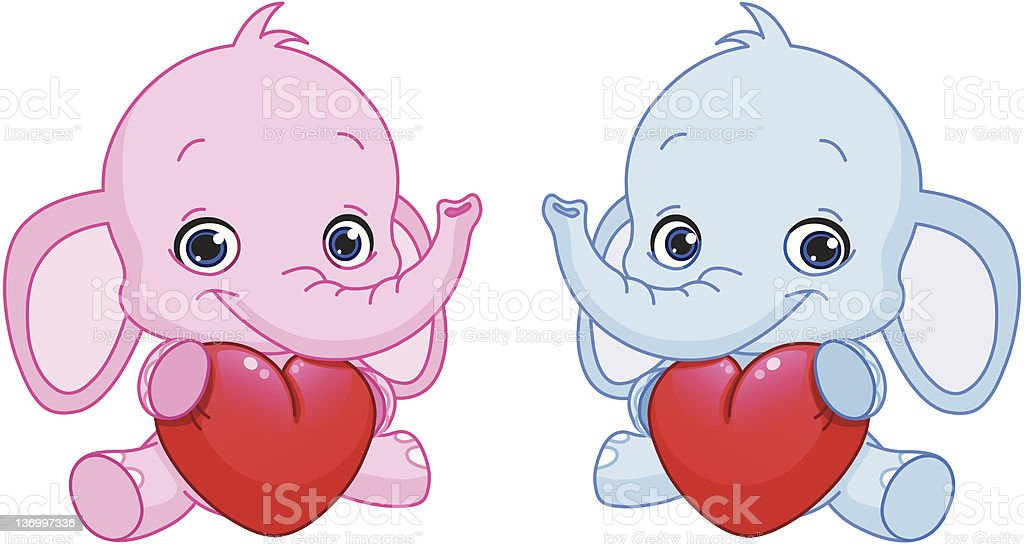 25+ Smart Elephant Pictures | PicsHunger |Cartoon Baby Elephant Pink