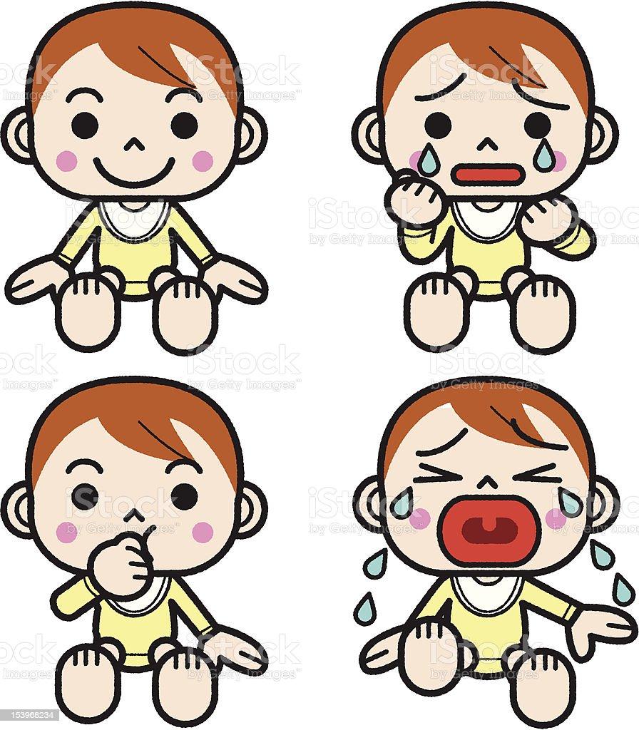 赤ちゃんの感情 おびえるのベクターアート素材や画像を多数ご用意 Istock