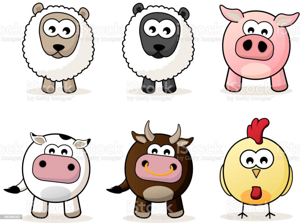 Baby Farm Animals royalty-free baby farm animals stock vector art & more images of animal