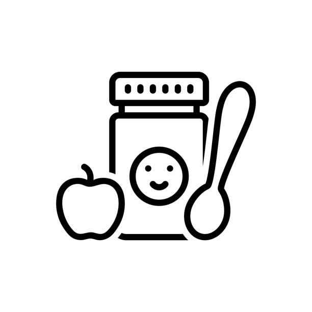 ベビーフード - ベビーフード点のイラスト素材/クリップアート素材/マンガ素材/アイコン素材
