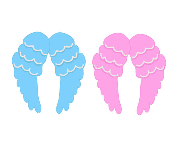 Royalty Free Baby Angel Clip Art, Vector Images ...