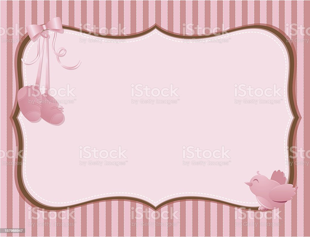 Baby Girl Background Royalty Free Baby Girl Background Stock Vector Art  U0026amp; More Images