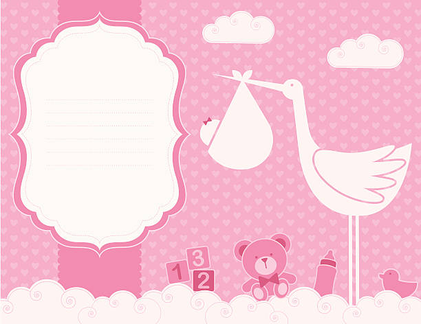 Royalty Free Its A Girl Clip Art Vector Images