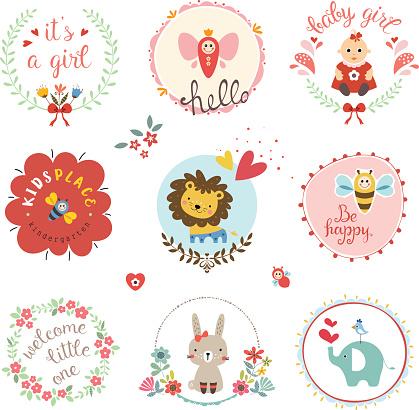 Baby Girl Design Set