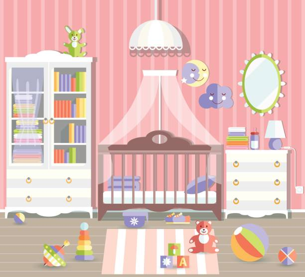 Colorful Mess Room: Best Messy Closet Illustrations, Royalty-Free Vector