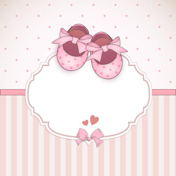 Best Baby Booties Illustrations Royalty Free Vector
