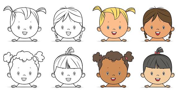 baby girls portrait