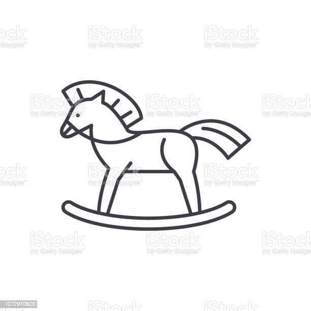 Baby horse line icon concept baby horse vector linear illustration vector id1072910620?b=1&k=6&m=1072910620&s=612x612&h=dxegvutsuduzf8 kjvskh5f18ngsi6enrzoarpe4cxm=