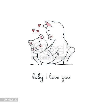 istock Baby I Love You 1294632420