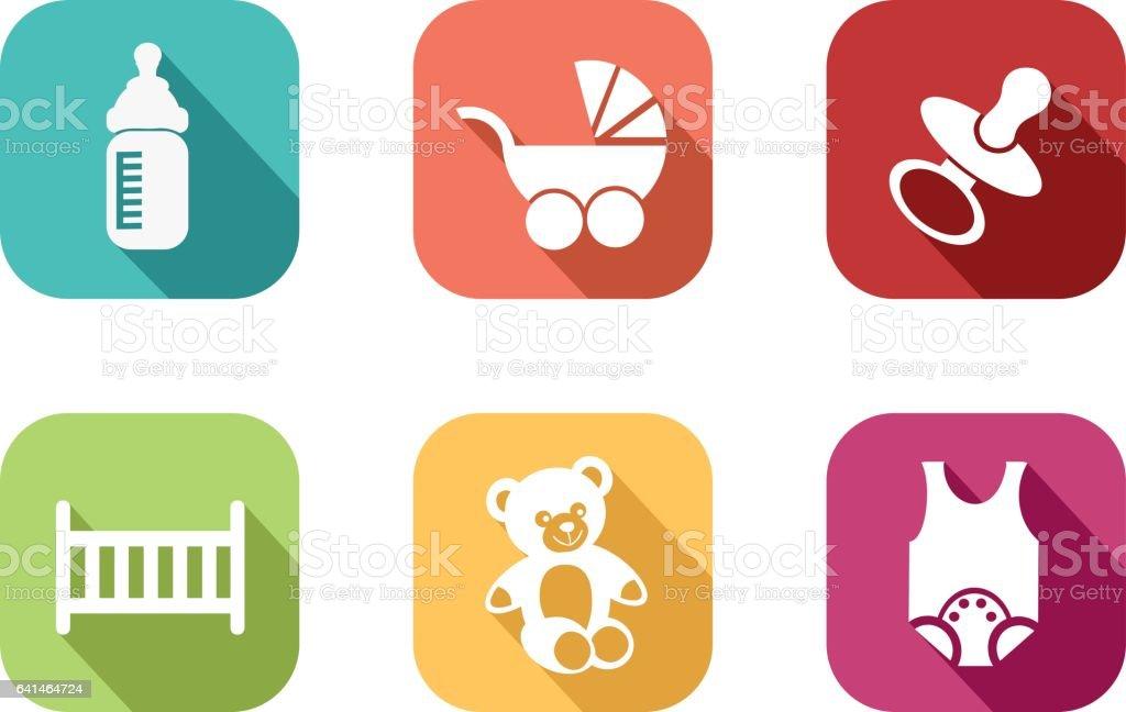 Icône de bébé - Illustration vectorielle