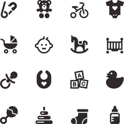Baby Icons - Black Series