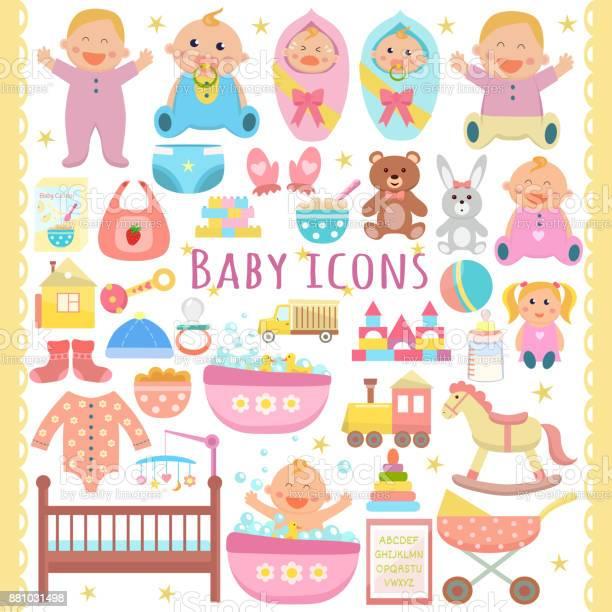 Baby icons set vector id881031498?b=1&k=6&m=881031498&s=612x612&h=pvnajszo8u9ztbgqeqlbo7ku qfcozudshw2v60lcyo=
