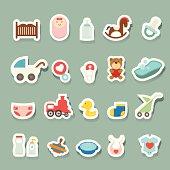 Baby Icons sticker set