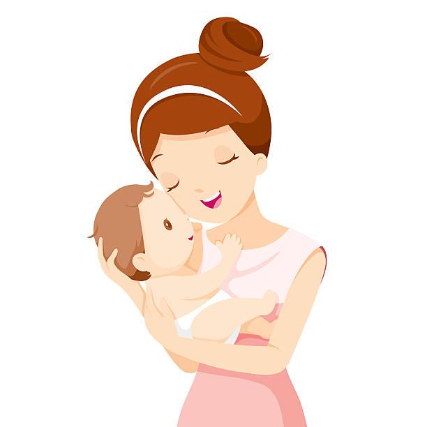 ilustraciones, imágenes clip art, dibujos animados e iconos de stock de bebé en un concurso disfrute de la madre - madre