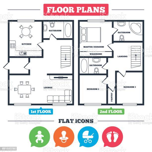 Floor Plan Stairs Free Vector Art 9 Free Downloads