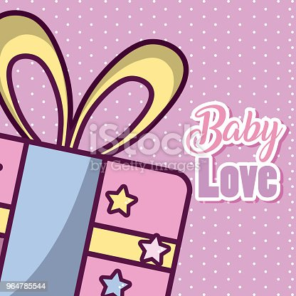 Baby Love Cartoons Stock Vector Art & More Images of Arrival 964785544