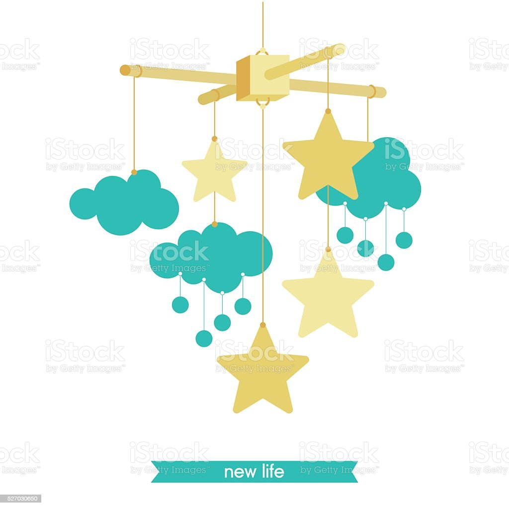 royalty free hanging mobile clip art vector images