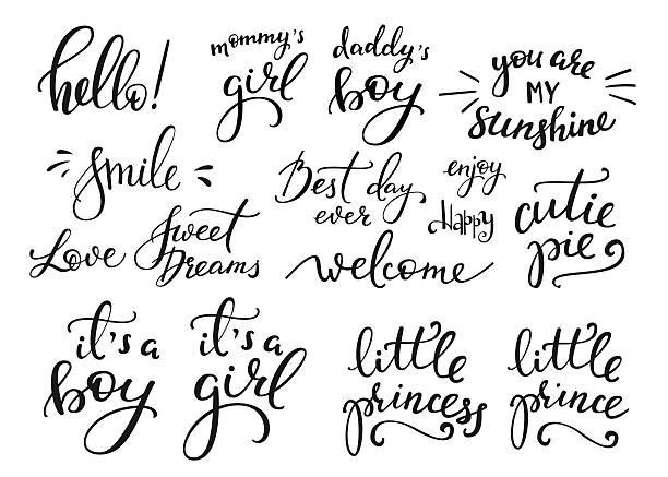 赤ちゃんの写真のファミリーオーバーレイセット - 家族写真点のイラスト素材/クリップアート素材/マンガ素材/アイコン素材