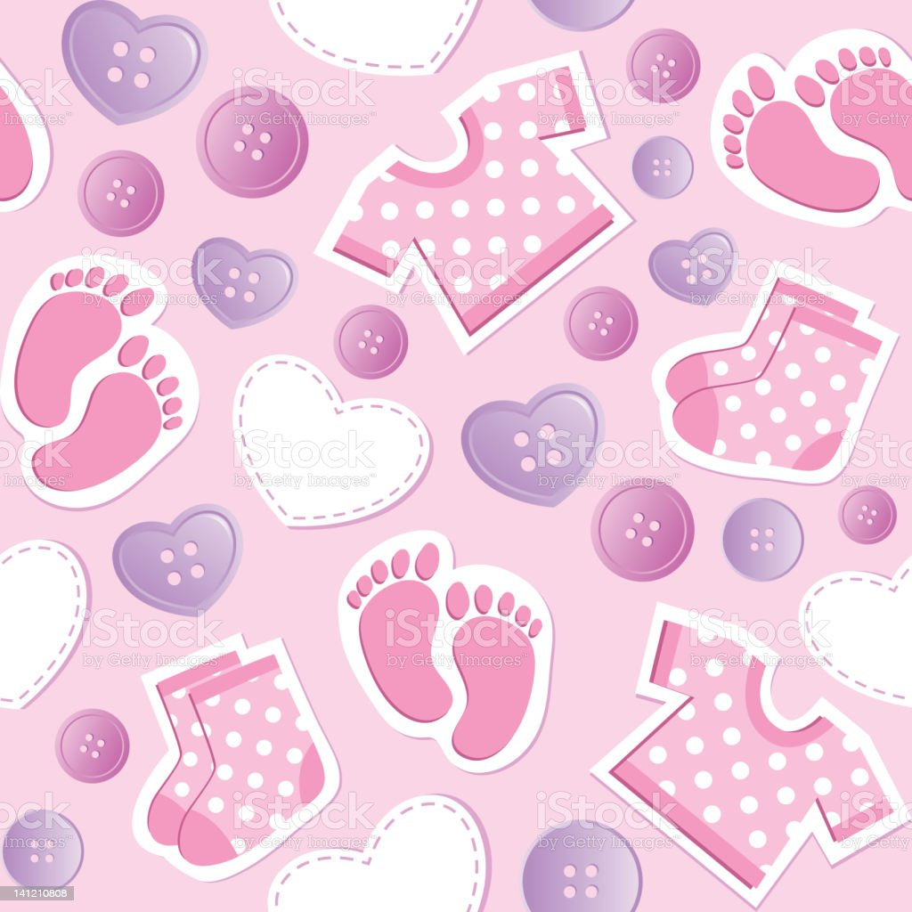 baby pink seamless pattern royalty-free baby pink seamless pattern stock vector art & more images of abstract