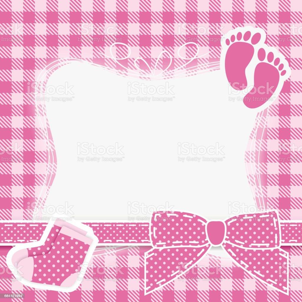 Baby pink vector baby pink vector - stockowe grafiki wektorowe i więcej obrazów dziecko royalty-free