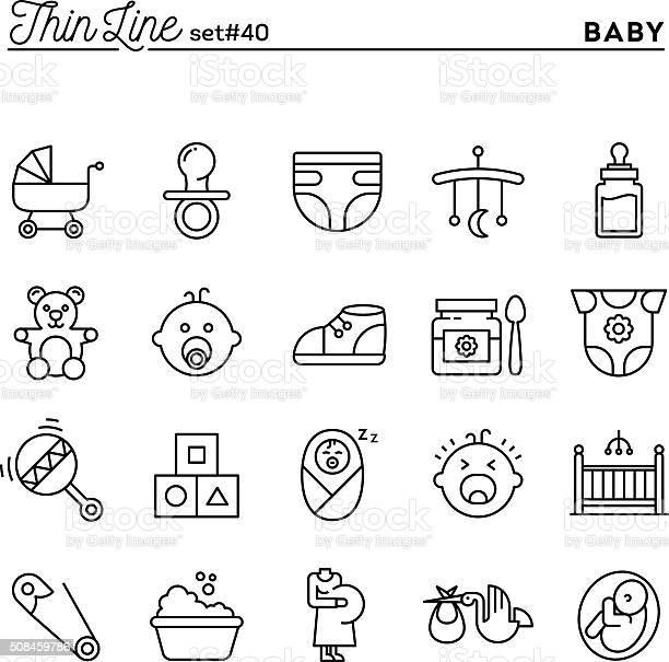 Baby pregnancy birth toys and more thin line icons set vector id508459786?b=1&k=6&m=508459786&s=612x612&h=d4vk8yzj7pk5zddwjvv9ffwvdi vbpfo2kv8mm4xy9e=