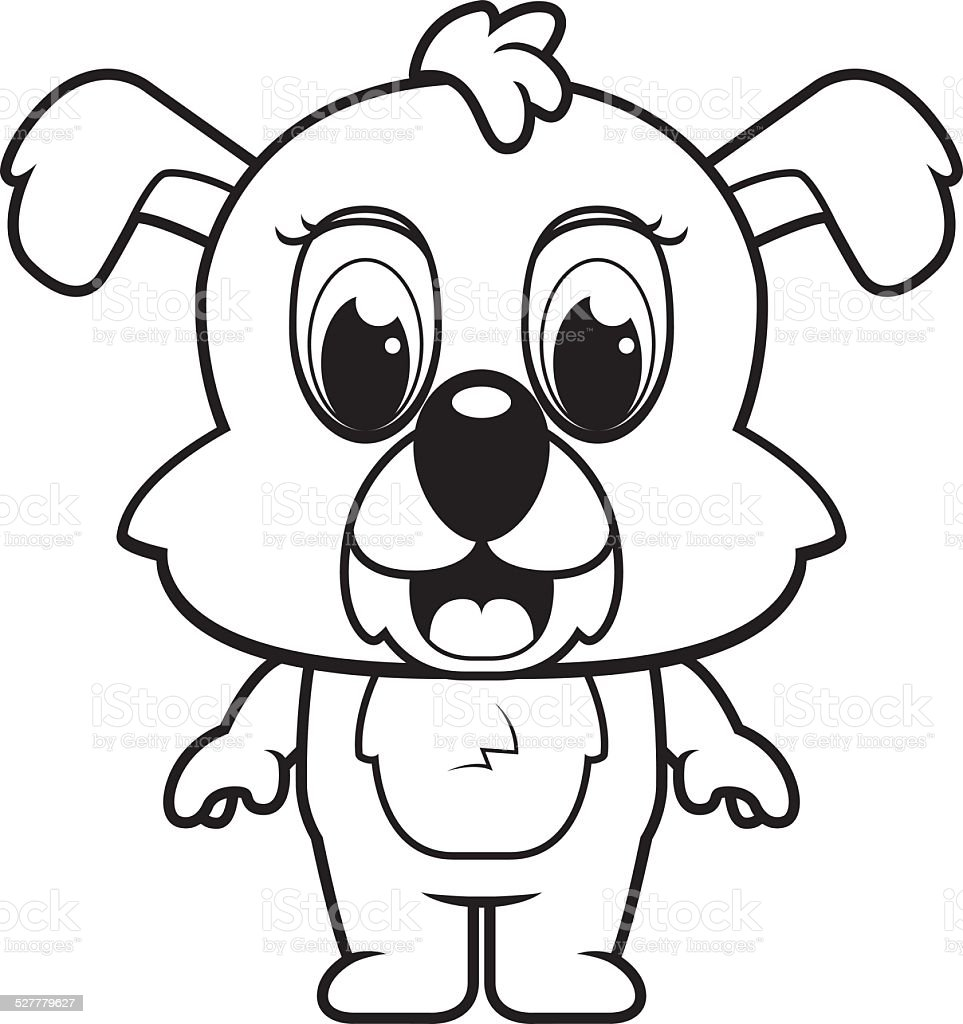 Baby Puppy Stock Illustration Download Image Now Istock