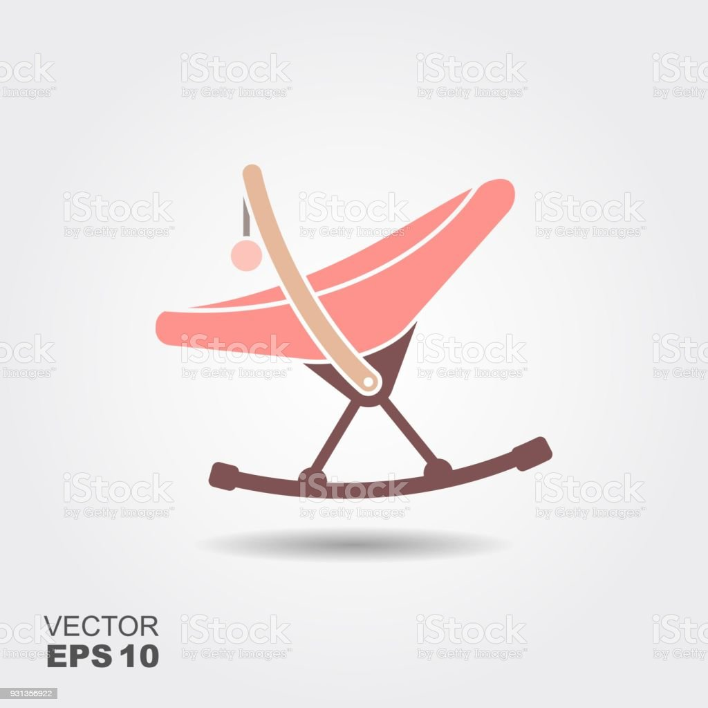 Baby Rocking Chair Clipart Royalty Free Rocking C...