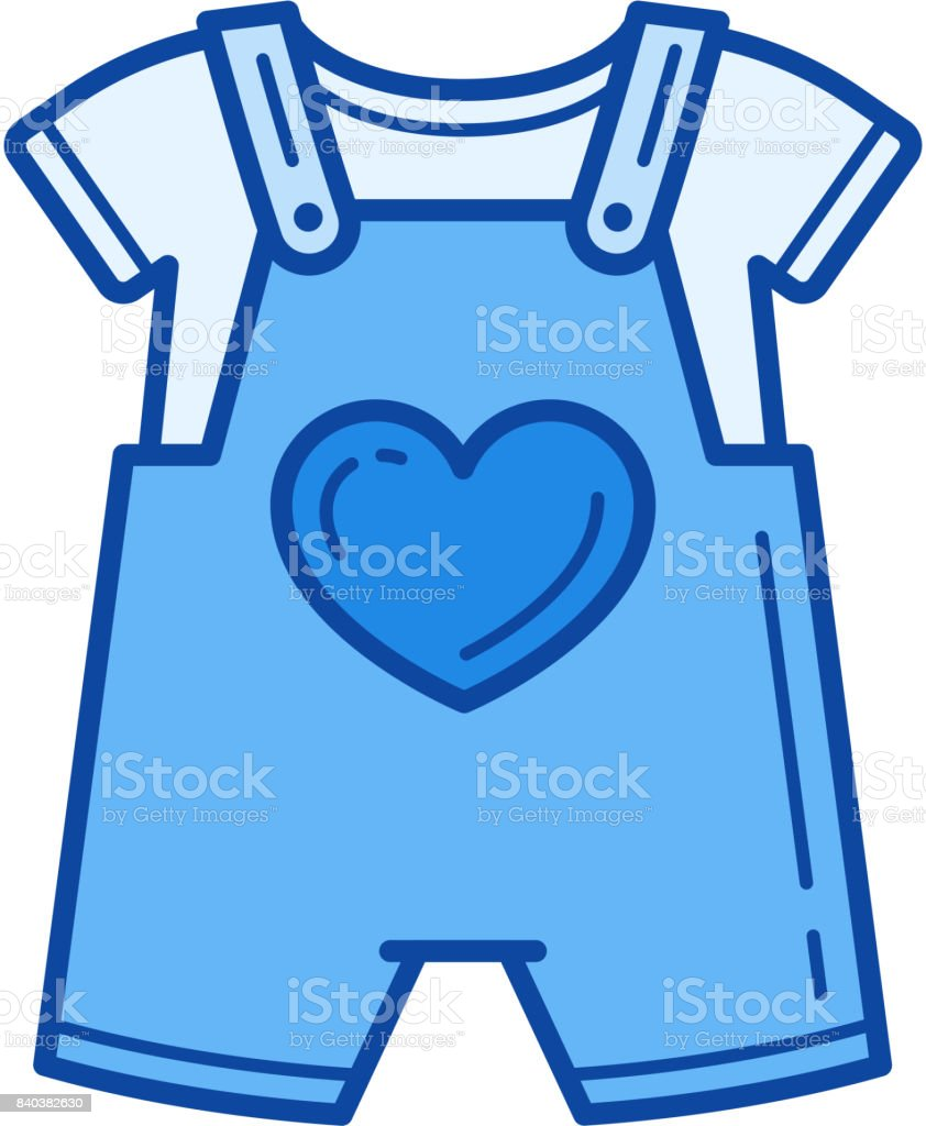 Royalty Free Baby Clothes Clip Art, Vector Images ...