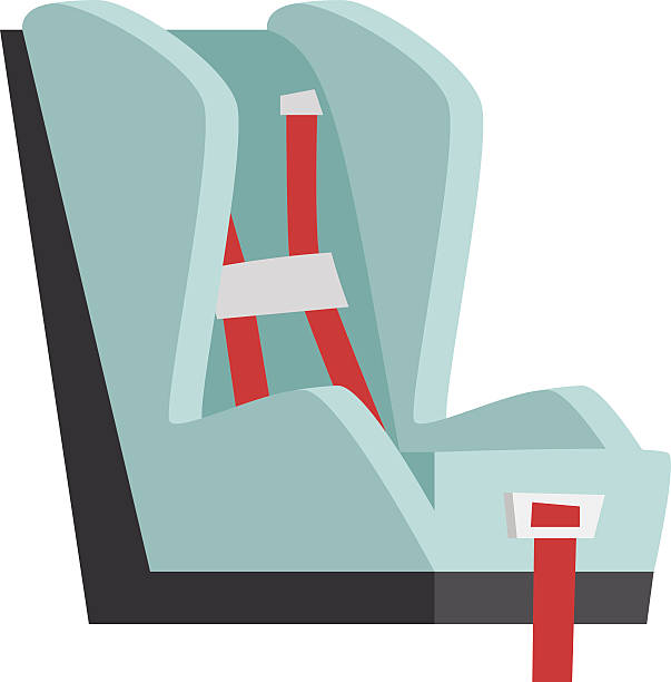 Baby Seat Vector Illustration Art