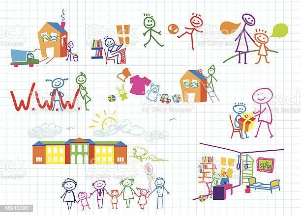 Baby sets lives of children vector illustration vector id459463931?b=1&k=6&m=459463931&s=612x612&h=4amkibw6uljn seg9nhgockijgd44x1gykxx nk4iie=