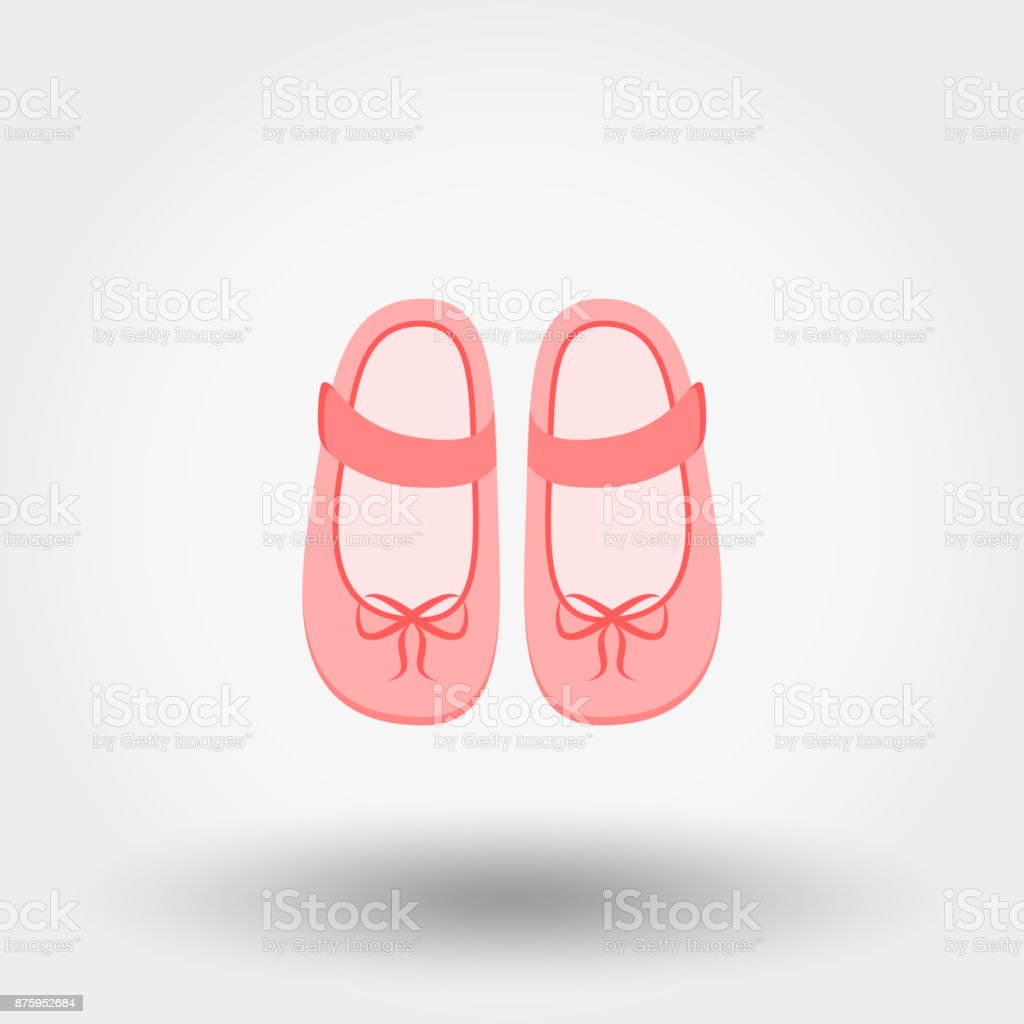 Baby Shoes Vector Illustration Stock Illustration Download Image Now Istock