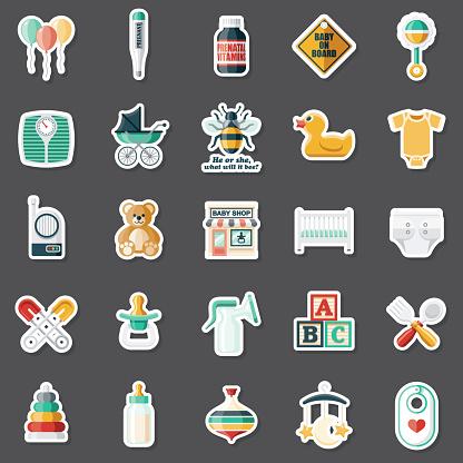 Baby Shop Sticker Set