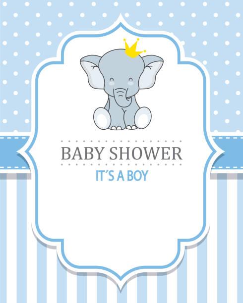 ilustraciones, imágenes clip art, dibujos animados e iconos de stock de ducha de niño bebé  - baby shower