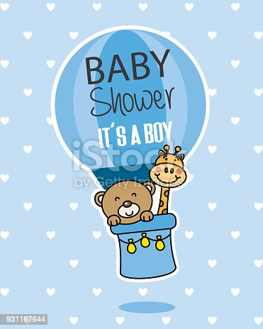 istock baby shower card 931167644