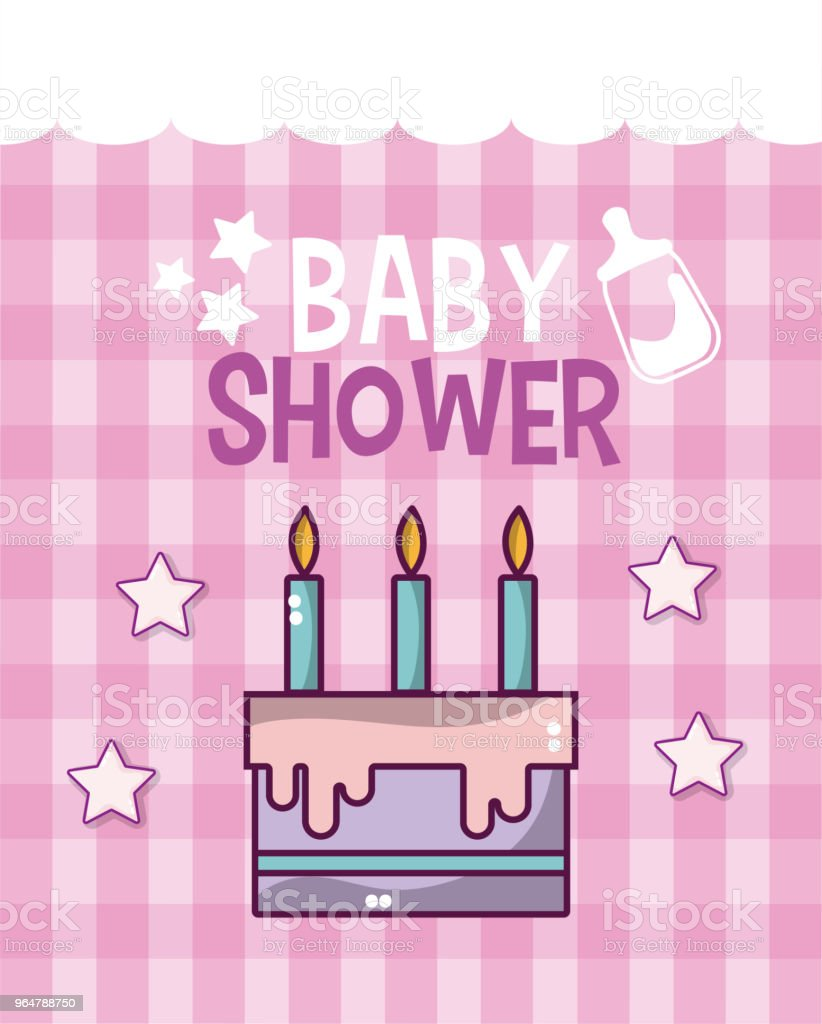 Baby shower card royalty-free baby shower card stock vector art & more images of announcement message