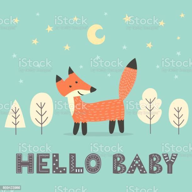 Baby shower card with a cute fox vector id859423986?b=1&k=6&m=859423986&s=612x612&h=kb75rqnqgzn0ciyvsmegralr3h54mxvnnqnbmnvvxgm=