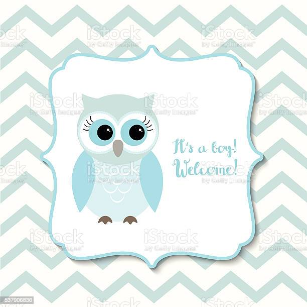 Baby shower for boys with blue owl illustration vector id537906836?b=1&k=6&m=537906836&s=612x612&h=d3gddpdp8dvpn xzft8jfh1f05vtczkciw ajollivq=
