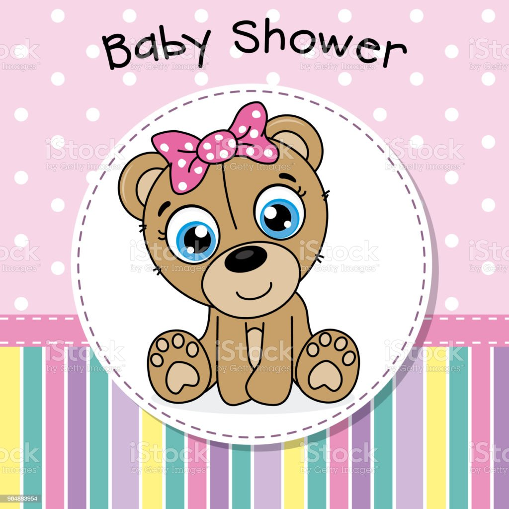baby shower girl royalty-free baby shower girl stock vector art & more images of animal